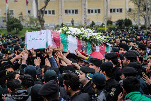 برگزاری مراسم تجلیل، وداع و تشییع54 شهید سرافراز ژاندارمری در دفاع مقدس